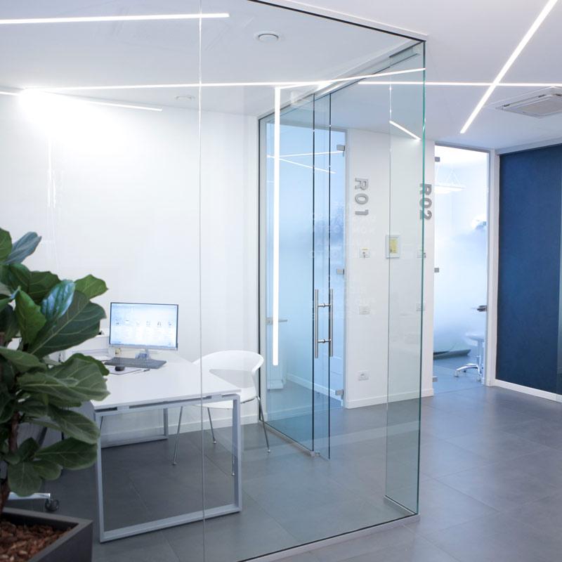 interno dello studio dentistico riva