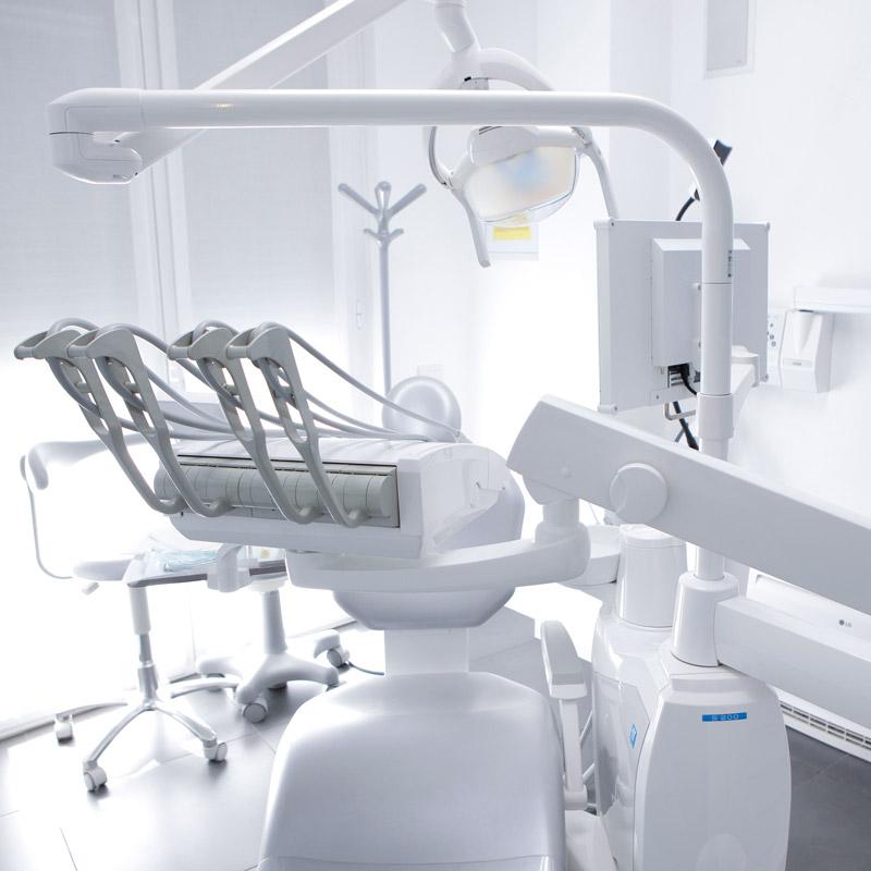 immagine degli interni dello studio dentistico riva