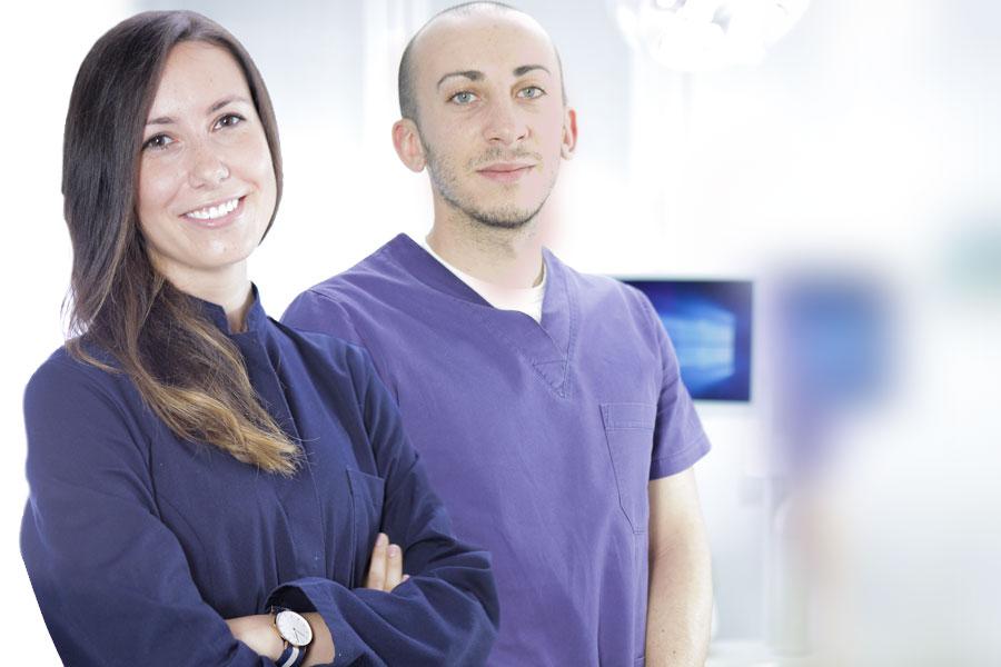 Igiene dentale presso lo studio dentistico Riva
