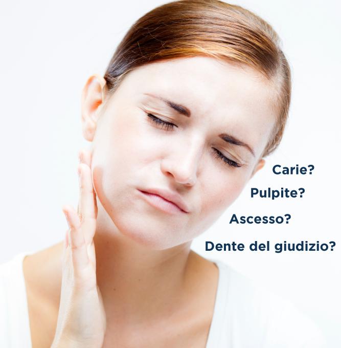 Studio dentistico Riva| Figino Serenza| Alzate Brianza| dolore ai denti