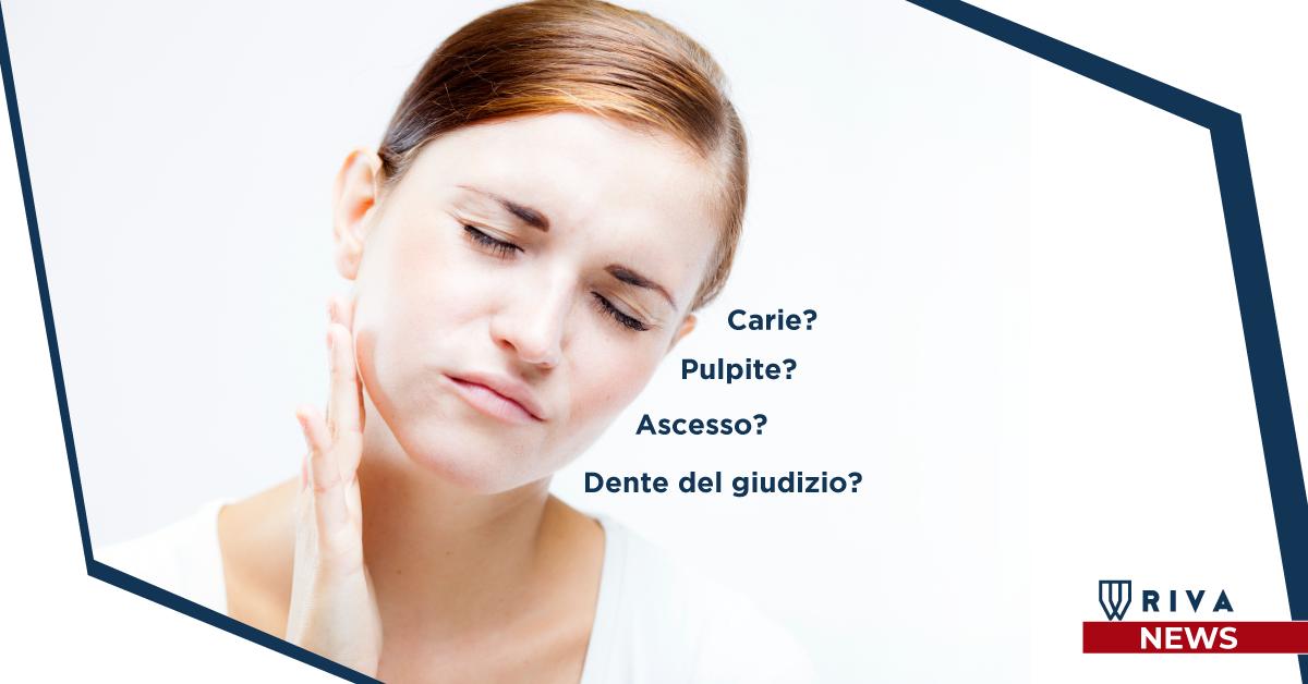 Studio dentistico Riva| Figino Serenza| Alzate Brianza|dolore ai denti